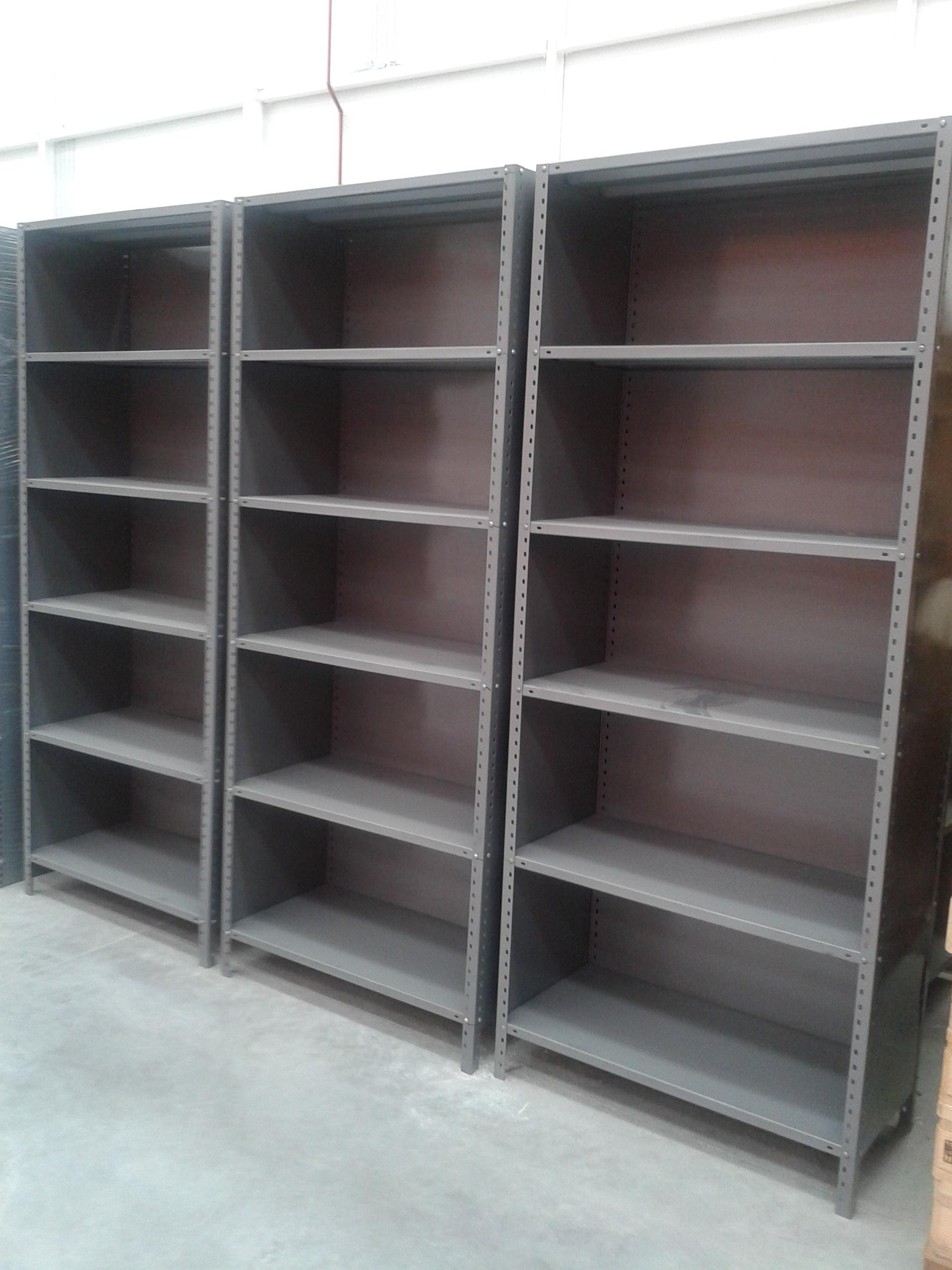 Estantes metalicos estantes y racks hch industrial for Estantes para oficina precios